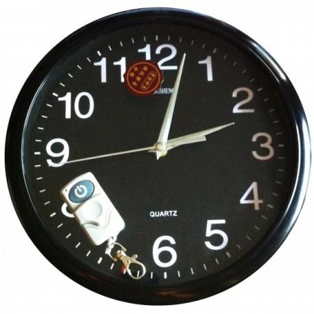 Horloge murale Mini Caméra Cachée 4Go télécommandée