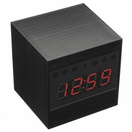 Réveil caméra Espion sans Fil HD 1080P télécommandé carré