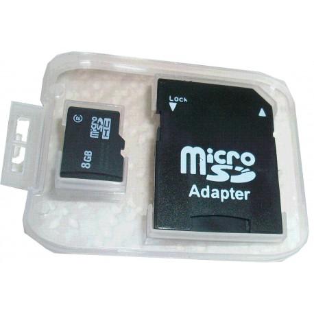 Micro carte SD 8Go