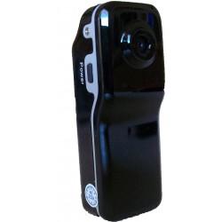 Caméra espion miniature à commande vocale ou manuelle