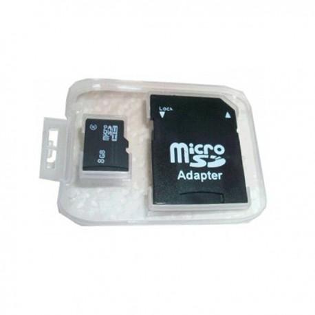 Carte micro SD capacité 8Go