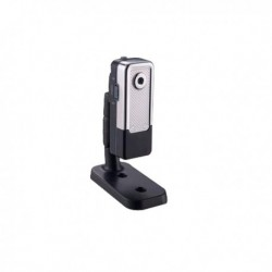 Caméra miniature en métal avec détecteur de mouvement