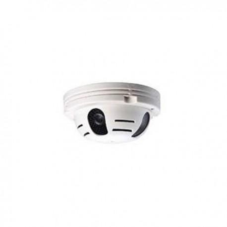 Détecteur de fumée factice avec caméra de surveillance