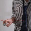 Cravate avec caméra espion capacité 4Go