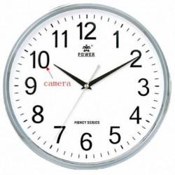 Horloge ronde Caméra de Surveillance espion Full Haute définition 1080P Wifi