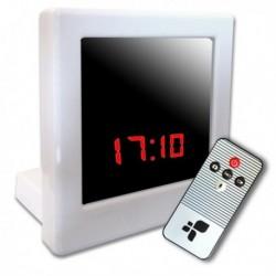 Réveil Micro camera de surveillance carré télécommandée