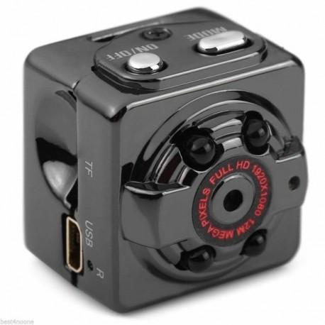 Micro camera espion video haute définition 1080P vision de nuit sport
