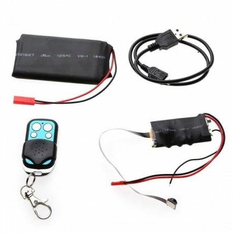 Micro Module Caméra à cacher Full HD 1080P Télécommandée