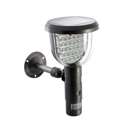Lampe solaire avec caméra espion et détecteur de mouvement