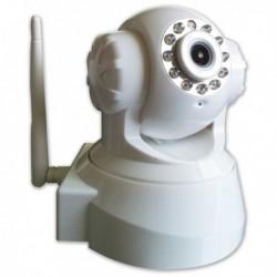Caméra de surveillance motorisée avec contrôle à distance IP, infrarouge, WiFi